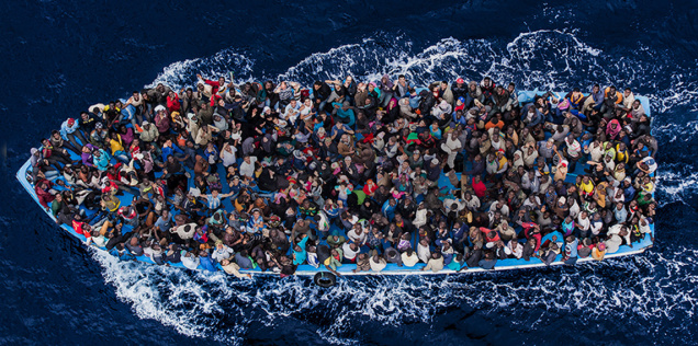 Images of refugees, part 3: refugees at sea